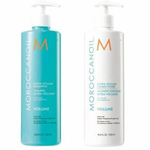 Moroccanoil Extra Volume Shampoo & Conditioner Duo 500ml - SAME DAY DESPATCH