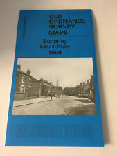 OLD ORDNANCE SURVEY MAP OF BUTTERLEY & NORTH RIPLEY 1898