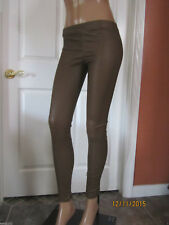 VINCE Stretch Ankle Zip Leather Leggings Skinny Pants Size XXS 2XS ~NWT~ $1250