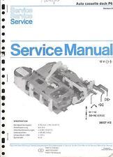Philips Original Service Manual für Auto cassette deck P 6