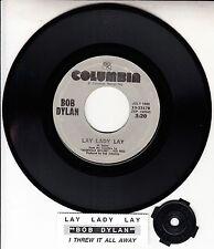 "BOB DYLAN Lay Lady Lay & I Threw It All Away 7"" 45 rpm vinyl BRAND NEW RARE"