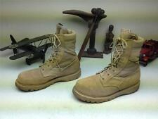 DISTRESSED MADE IN USA BROWN LEATHER LACE UP DESERT ARMY HIKING WAR BOOTS10.5 D