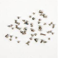 2× Repair Full Screws Set Replacement Parts with 2 Bottom For iPhone 5 5G Silver