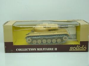 SOLIDO - MILITAIRE - CHAR BLINDE M47 GENERAL PATTON - ISRAEL - N°6065 - ANCIEN -