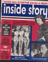 Inside Story Magazine May 1955 J Edgar Hoover Red Buttons Louella Parsons