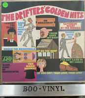 "THE DRIFTER'S GOLDEN HITS 12"" LP Album Vinyl Record Atlantic k 40018 EX+ Con"