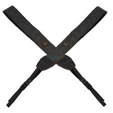Black Camera Shoulder Neck Vintage Strap Belt for Nikon DSLR Camera Universal
