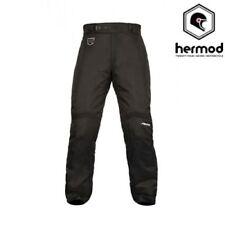 Pantaloni da donna neri in poliestere per motociclista
