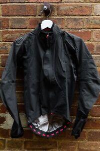 rapha pro team race cape waterproof jacket cycling XS