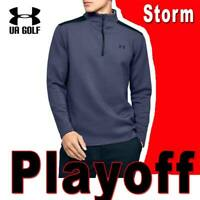 MEN'S  UNDER ARMOUR UA STORM PLAYOFF 1/2 ZIP GOLF JACKET WATER RESISTANT MEDIUM