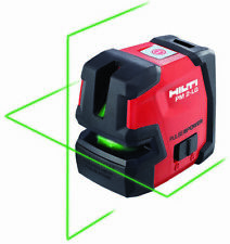 New Hilti Pm 2-Lg Green Beam Line Laser w/ Pma Bracket
