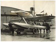 Hydravion de course Supermarine S6B - Record du monde Vitesse 1931 - Argentique
