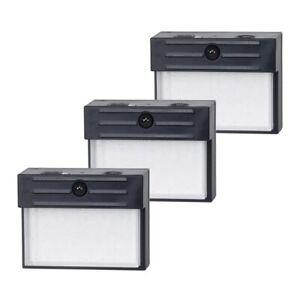 Honeywell, 3 Pk  Battery LED Indoor/Outdoor Motion Sensor Wall Security Lights