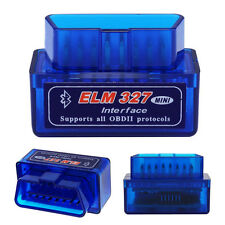 Mini OBD2 ELM327 V2.1 Bluetooth Car Scanner Android Torque Auto Scan OBD-II Neu