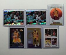 Shaquille O'Neal 6 Card Lot Mint Inserts SP Los Angeles Lakers