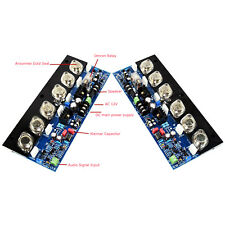 1 Pair E405 Gold Sealed Tube Pure Final Stage HIFI fever Power Amplifier Board