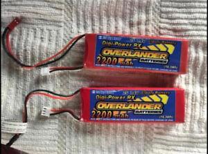 Overlander 2200MAH Supersport Pro Lipo Battery's