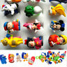 10/50Pcs Lot Wholesale Mixed Lots Cute Cartoon Children/Kids Resin Rings Jewelry