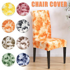 Stretch Chair Covers Slip Removable Slipcovers Seat Cover Dining Room Decor