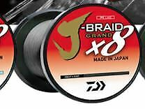 DAIWA JBGD8U15-300GL-LC J-Braid x8 Grand 15Lb 300Yards Light Gray Fishing Line