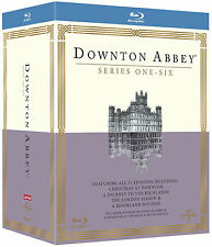 DOWNTON ABBEY - Complete Series 1-6 Collection Boxset (NEW BLU-RAY)