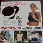 TOKK Hands-Free Calling Bluetooth Smart Speakerphone Magnetic Speaker. NEW.WHITE