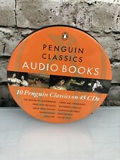 Penguin Classics Audio Books - 10 Books on 45 Cds Frankenstein Great Exp Jane Ey