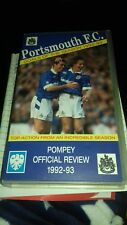 portsmouth fc football club goals of the season 1992-93 pompey review vhs video