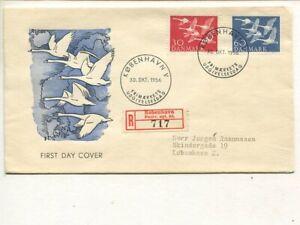 Denmark FDC 30.10.1956