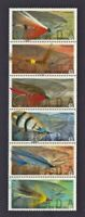 FISHING FLY - FLIES - FISH Canada 1998 #1720a MNH-VF strip of 6, Folded [oq05]