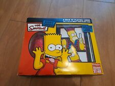 Simpsons Vintage Easter Egg With Giant Playing Cards Not For Eating