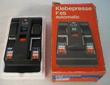 klebepresse f8s type 5258/222 automatic nuovo con scatola