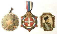Lot de 3 journées Serbes 25 juin 1916