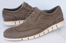 New Cole Haan Men's Shoes Zerogrand Wing Size 12 Brown Oxfords