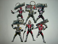 6 Kamen Rider Den-O Figure Keychains! Masked Rider Ultraman Godzilla