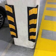 2pcs x 1000mm Rubber Corner Protectors Parking Corner Guard Wall Protector