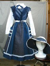 Victorian Dress Women's Edwardian Costume Civil War Girl's Prairie Style