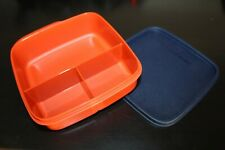 TUPPERWARE To Go Lunchbox 550 ml Trennwand Clevere Pause Schule BOX terracotta