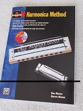 Manus Basix Harmonica Method + Cd Diatonic Chromatic Unused