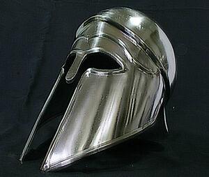 Korinther Ritter Helm Sparta Rüstung Ritterhelm Mittelalter Larp Reenactment R43