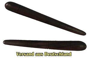 2 Stk. Holz Massage Stick,Massagefinger,Hartholz,Thaimassage