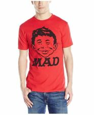 Goodie Two Sleeves MAD Men's T-Shirt, Red, Large