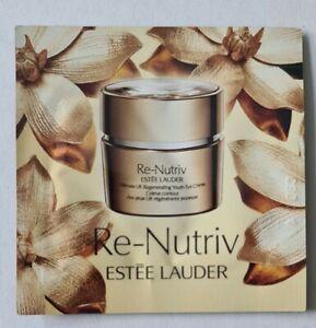 12 Estée Lauder Re-Nutriv Ultimate Lift Regenerating Youth Eye Creme 0.5ml - 6ml