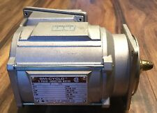 SM Cyclo 3 Phase Induction Motor 1/8HP 575V 1720RPM 60HZ Frame V-63S Free Ship!