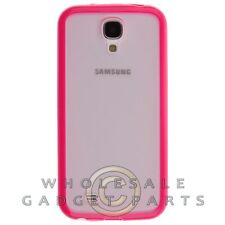 Samsung GS4 Gummy Cover Light Pink Case Guard Shield Shell Protection Protector