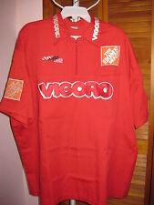 Simpson J.J. Yeley #18 JGR Vigoro/Home Depot Crew Uniform Shirt Size 2XL w/Cap