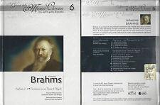 cd+libro guida all'ascolto I Grandi della Musica Classica - vita opere BRAHMS