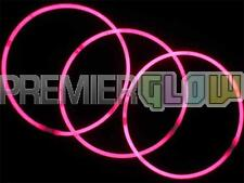 23inch Glow Stick Necklaces Premium Quality Neon Party Favor Pink(50 pieces)