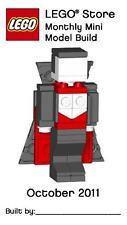 Constructibles® Dracula Halloween Mini Model LEGO® Parts & Instructions Kit