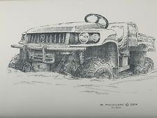 John Deere HPX 4x4 Gator Utility Vehicle Limited Edition Print #'d 1/500...#1